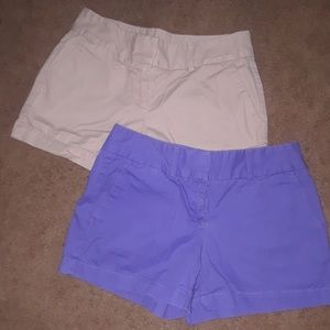 Ann Taylor LOFT Chino shorts bundle